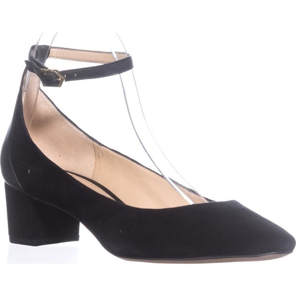 Sam Edelman Lola Pump Kitten Heels, Black Suede