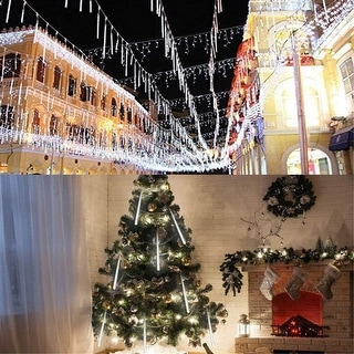 Link to 8 Pcs Meteor Shower Rain Lights, Ultra Bright Romantic LED Lights for Party, Wedding,etc. - 11.7inch Similar Items in Christmas Decorations