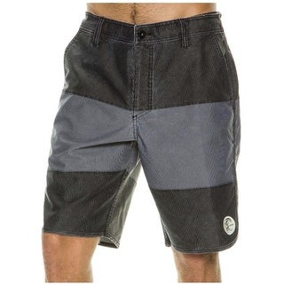 O'Neill Men's Originals Blockie Hybrid 32 Black Boardshort Swim Trunks