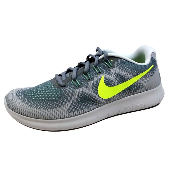 Kixrx: Nike Free RN 2017 Cool GreyVolt Wolf Grey 880839 004