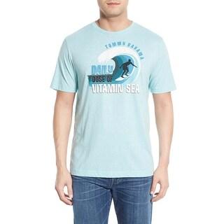 Tommy Bahama Daily Dose of Vitamin Sea XXS Meditate Heather T-Shirt