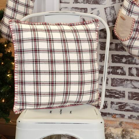 Amory Plaid Pillow 16x16