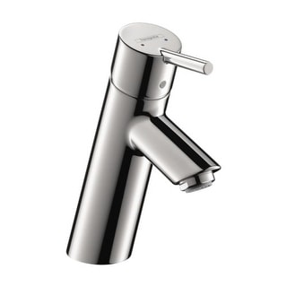 Hansgrohe 32041 Talis S Single Hole Bathroom Faucet with EcoRight, Quick Clean, and ComfortZone Technologies - Less Drain