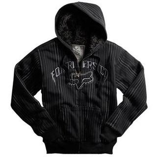 Fox Racing 2010 High Life Sasquatch Zip Front Fleece - 45976 - Black