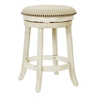 Link to OSP Home Furnishings Metro 26 inch Backless Swivel Stools, 2 Pack Similar Items in Dining Room & Bar Furniture