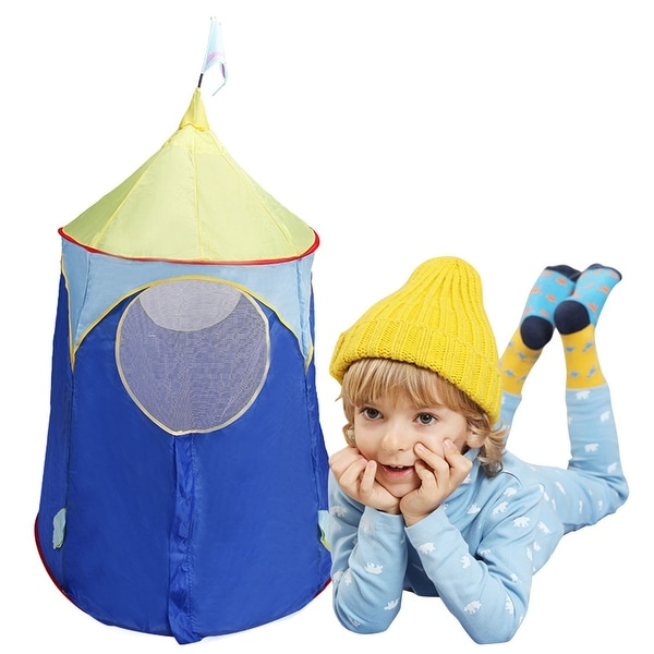 Costway Kids Baby Play Tent Castle C&ing In/Outdoor Portable Foldable Children Gift  sc 1 st  Overstock & Costway Kids Baby Play Tent Castle Camping In/Outdoor Portable ...