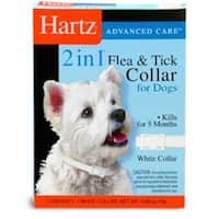 "Ultraguard Flea & Tick Dog Collar 20"", White 1 ea"