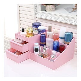 Drawer Type Organizer Cosmetic Storage Box 3126 XL Pink