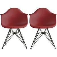 Buy Red Plastic Kitchen Dining Room Chairs Online At Overstock Our Best Dining Room Bar Furniture Deals