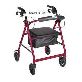 Rollator 4-Wheel with Pouch
