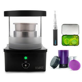 Sourceturbo by ExtractCraft with Ardent Nova Decarboxylator. Comes with Dr Dabber Budder Cutter & Concentrate Kit