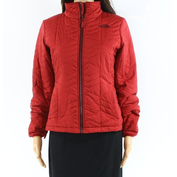 The North Face Red Womens Size Small S Holladown Crop Jacket