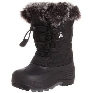 Kamik Unisex Snowgypsy, Black, 3