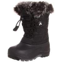 Kamik Unisex Snowgypsy, Black, 4