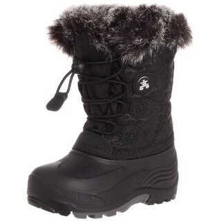 Kamik Unisex Snowgypsy, Black, 6