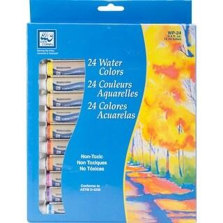 Watercolor Paints 12ml 24/Pkg-Assorted Colors