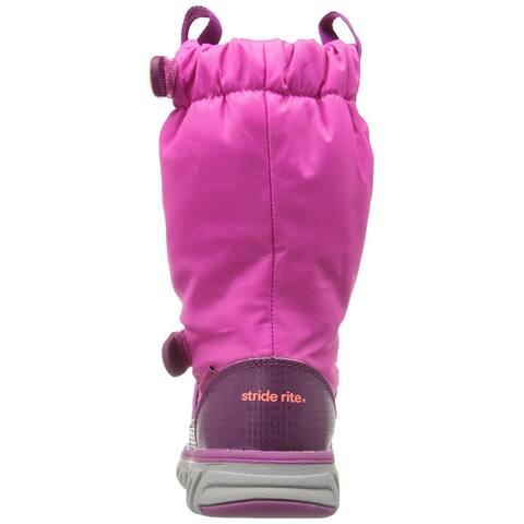 Stride Rite Girls M2P sneaker boot Mid-Calf Snow Boots
