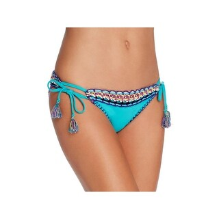 Isabella Rose Womens Crochet Trim Side Tie Swim Bottom Separates (3 options available)