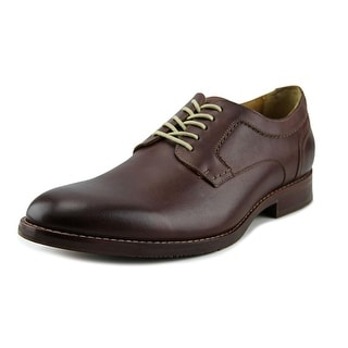 Johnston & Murphy Garner Men  Plain Toe Leather Brown Oxford