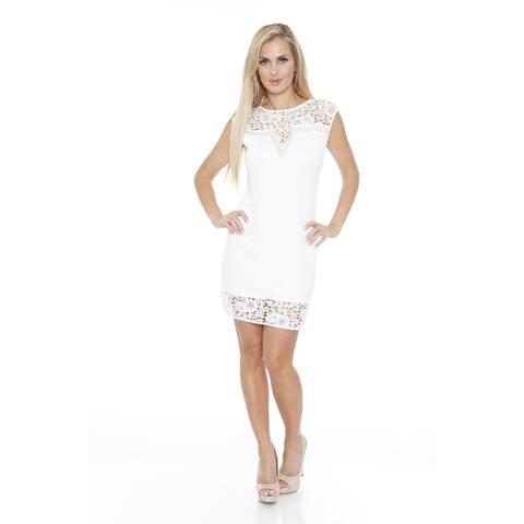 Charlotte Dress - White