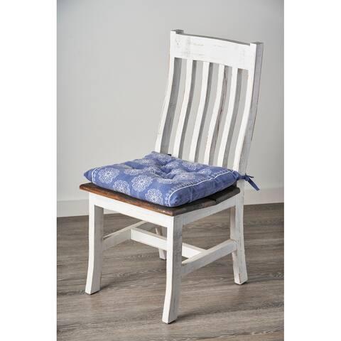 Intricate Floral Chair Cushion
