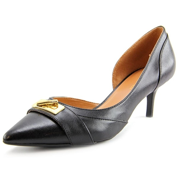 Tommy Hilfiger Joetta3 Women Pointed Toe Synthetic Black Heels
