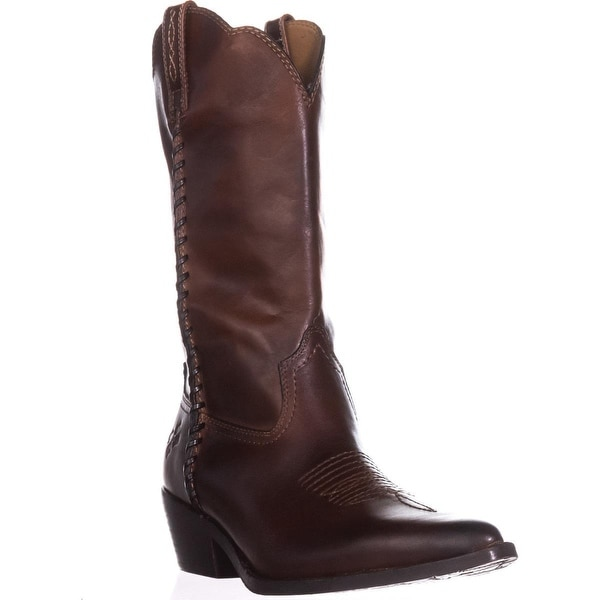 2da00f0b1dd Shop Patricia Nash Bergamo Cowboy Boots, Whiskey - Free Shipping ...