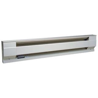 """Cadet 4F1000W (09954) Electric Baseboard Heater, 48"""", 240V/1000W, 208V/750W"""
