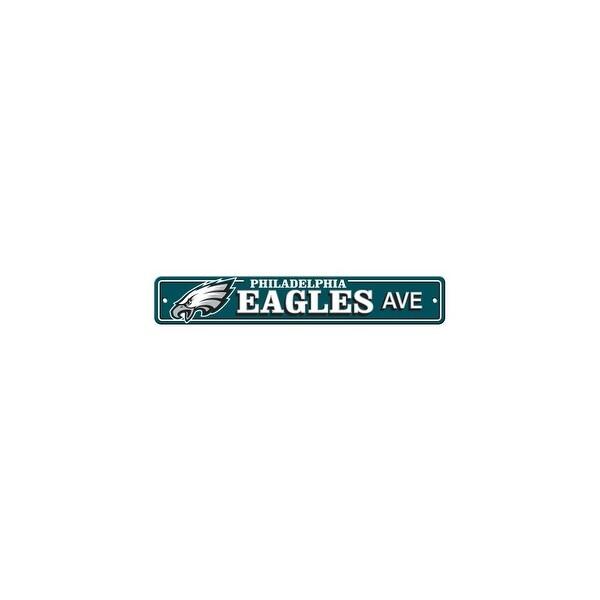 FREMONT DIE Inc Philadelphia Eagles Plastic Street Sign Plastic Street Sign