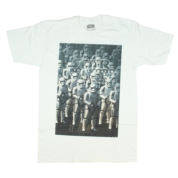 Star Wars Force Awakens Storm Trooper Army Mens T-Shirt