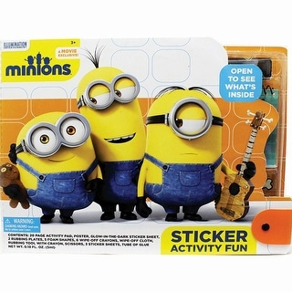 Minions Large Sticker Activity Fun