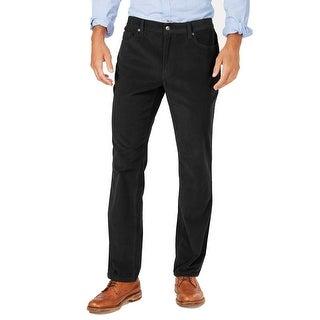 Link to Club Room Mens Pants Black Size 38x32 Straight Leg Corduroy Stretch Similar Items in Big & Tall