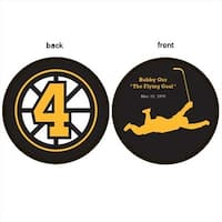 Sher-Wood Hockey Bobby Orr Flying Goal Puck