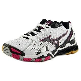 Mizuno Wave Tornado 9 Women  W Round Toe Synthetic White Sneakers