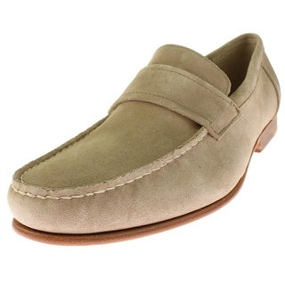 Calvin Klein Mens Baron Loafers Suede Moc Toe - 9.5 medium (d)