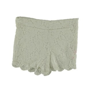 Free People Womens Lace Lined Casual Shorts - 8