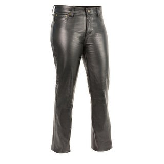 Women's Classic 5 Pocket Leather Pants (More options available)