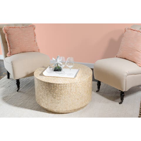 Perkins Capiz Mosaic Coffee Table