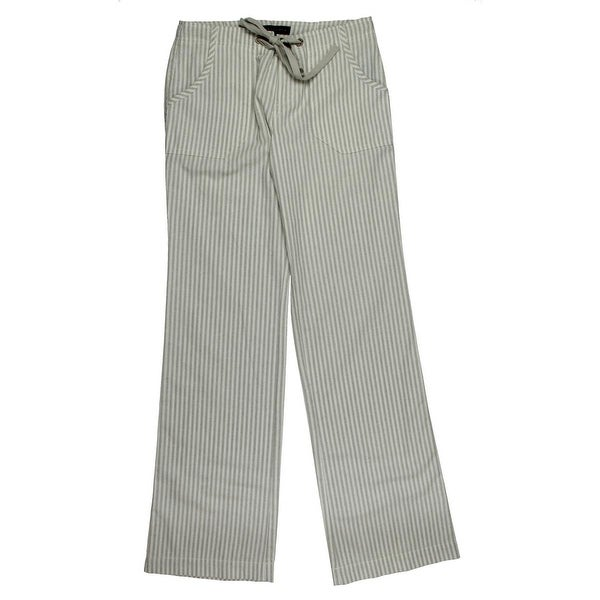 b01a8998c6961 Shop Sanctuary Womens Newport Linen Pants Striped Drawstring - Free  Shipping On Orders Over  45 - Overstock.com - 16636011