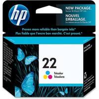 HP 22 Tri-color Original Ink Cartridge (C9352AN) (Single Pack)