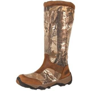 "Rocky Outdoor Boots Mens 17"" Retraction WP Side Zip Realtree RKS0243"