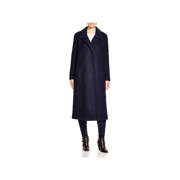 Andrew Marc Womens Maxi Coat Fall Wool Blend