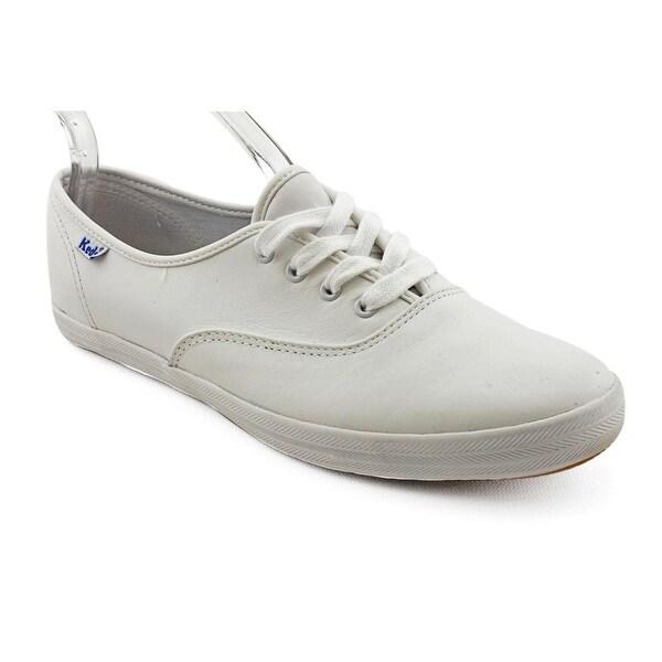 da9f8f3caf6ef Shop Keds Champion Oxford Women W Round Toe Leather White Sneakers ...