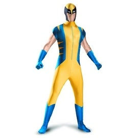 Disguise Mens Wolverine Halloween Party Superhero Costume - XXL