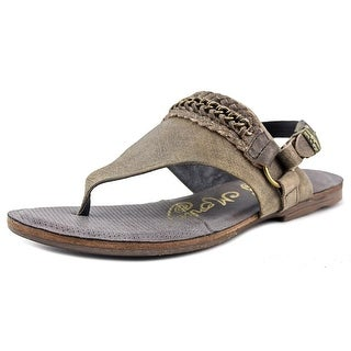 Naughty Monkey Enchilado Open Toe Leather Thong Sandal