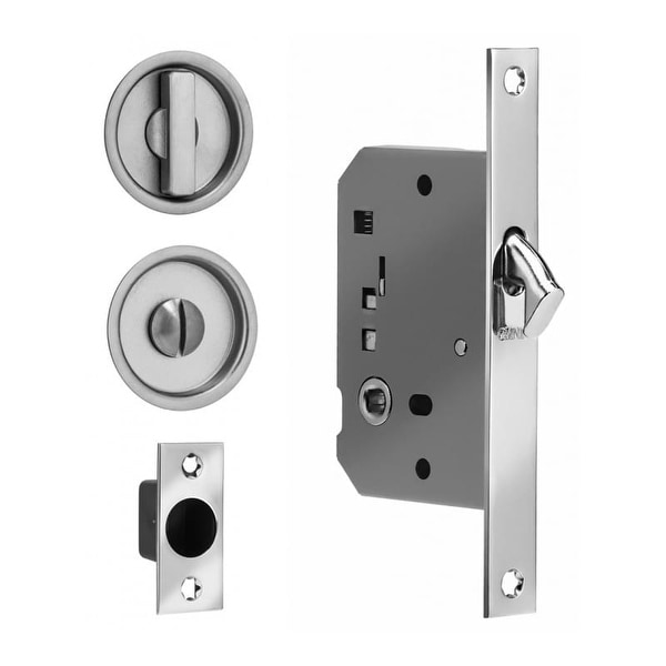 Shop Omnia 3910s Privacy Pocket Door Mortise Lock Free Shipping