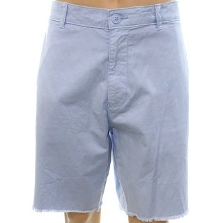 American Rag NEW Blue Mens Size 40 Flat Front Twill Chinos Shorts