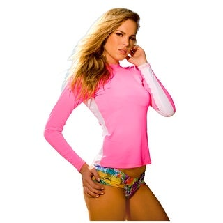 Ingear Ladies Rash Guard Long Sleeve Shirt Swimwear