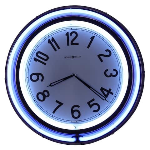 Howard Miller Studio Neon Wall Clock