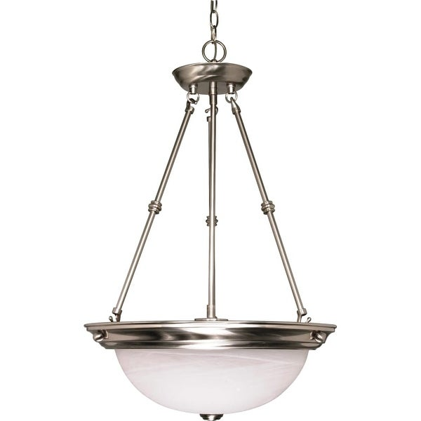 "Nuvo Lighting 60/203 3 Light 15"" Wide Pendant"